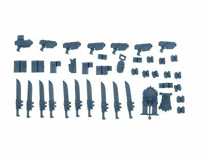 Space Marines Mark IV  - Accessoires Pack  - Big Pack