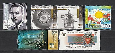 Ukraine MNH** 2012 Mi.1288,1289,1290,1295,1311-12 Lot I