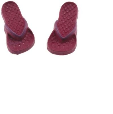 Dollhouse Miniatures 1 12 Scale Flip Flops Lilac And Light Blue