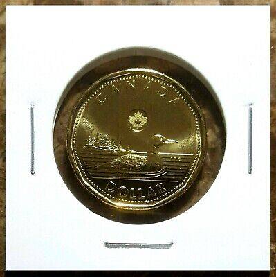 Canada 2015 Loonie BU UNC From Mint Roll!!