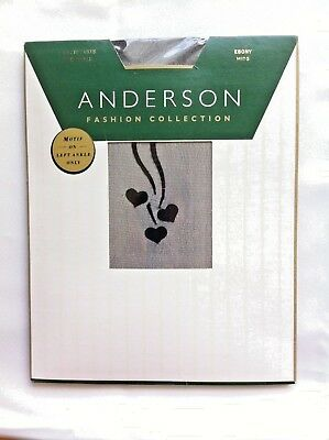 Anderson Fashion Collection Sweethearts Side Ankle Ebony Mids New In Pack Vintag