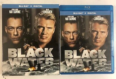 Black Water Blu Ray + Slipcover Sleeve Free World Wide Shipping Buy It Now