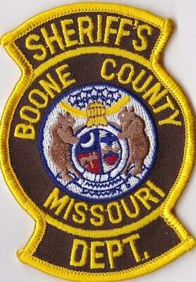 Boone County Sheriffs Dept. Police Patch Missouri MO NEW !!!