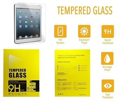 100% Genuine Tempered Glass Screen Protector cover For Apple Ipad mini 1,2,3