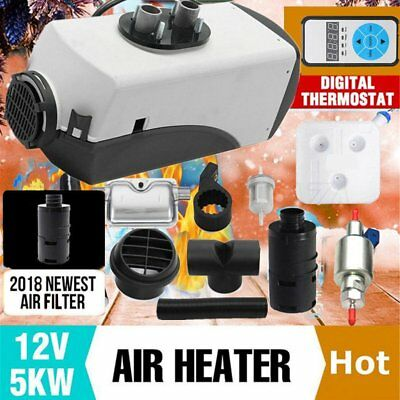 Air Heater 5KW 12V/24V Similar To Webasto Heater Thermostat Caravan Motorhome LO