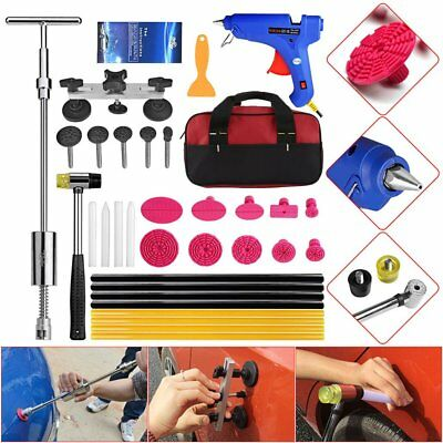 PDR Tools Slide Hammer Puller Hail Ding Set Paintless Dent Repair Removal Kits L