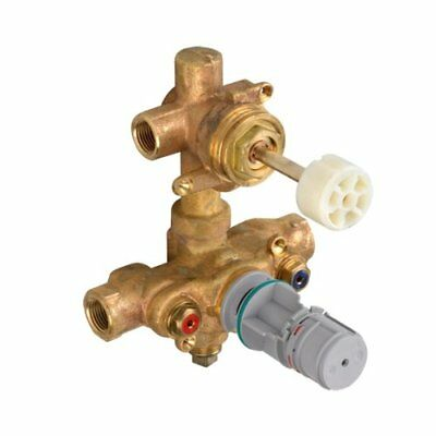American Standard R523 1/2-Inch 2-Handle Shower Theromstat Rough Valve with Buil