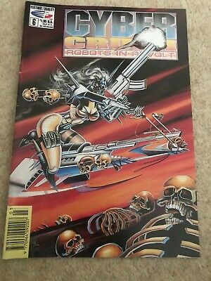 Cyber Crush Robots In Revolt Issue 6