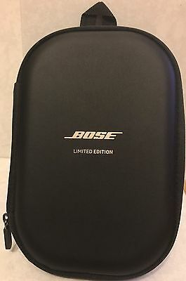 Limited Edition Bose Carry Case for Quiet Comfort 35 Headphones, Black BRAND NEW
