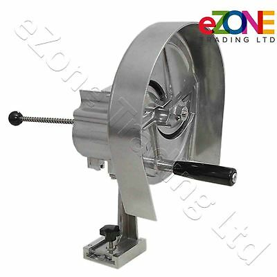 Commercial Manual Vegetable Slicer Fruit Salad Cutter Catering Food Prep Machine