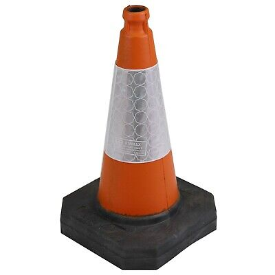 500mm Heavy Duty Traffic Cones - UK Made & Brand New - Melba Swintex