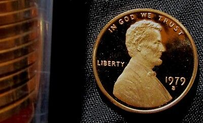 1979-S 1C Type 2 DC (Proof) Lincoln Cent