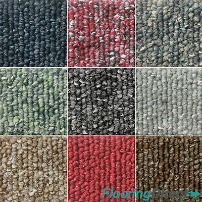 Heavy Duty Carpet Tiles 5.5m2 Box - Domestic Commercial Office Flooring