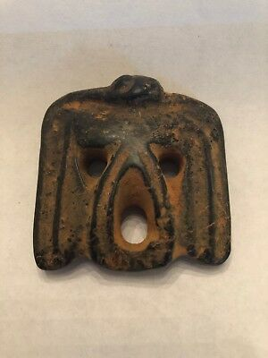 Carved Stone Ancient Bird / Female Pendant