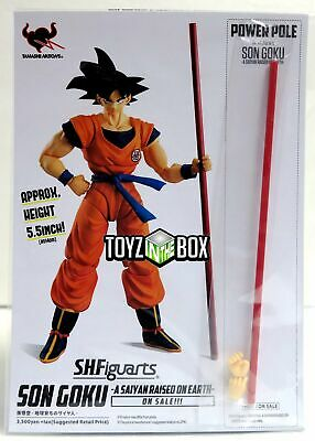 "In STOCK S.H. Figuarts Dragonball Z SDCC 2018 ""Power Pole"" for Son Goku Figure"