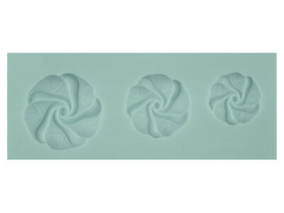 Silicone Flexible Floral Swirl Mould
