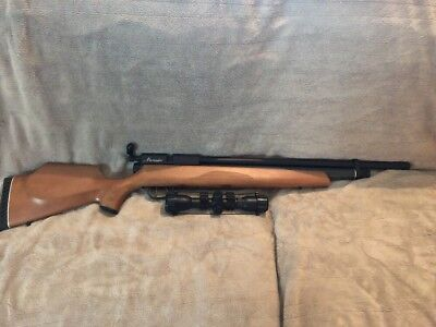 BENJAMIN MARAUDER PCP Air Rifle 22 Caliber Wood Stock Matte Barrel With 2  Mag