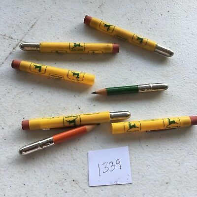 New John Deere Souvenir Advertising Bullet Pencil-Collectible