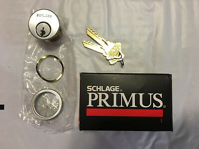 Schlage Primus 20-700 626 118 CP Mortise NEW With 2 keys