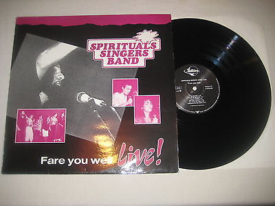 Spiritual Singers Band - Fare you well - live  Vinyl LP