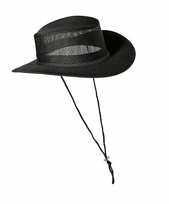 ae6a9c936a0 STETSON MEN S MESH Covered Hat Walnut Large Hats Accessories ...