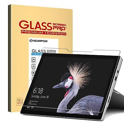 Nearpow Microsoft Surface Pro 4 (2017) 12.3 Inch Tempered Glass Screen Protector