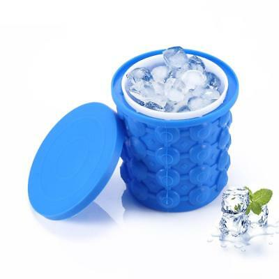 Ice Cube Maker Space Saving Ice Mold Silicone Large Ice Cube Genie Kitchen Tools