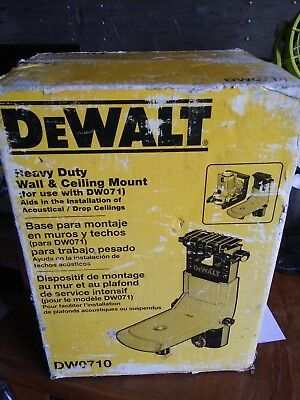DeWalt DW071 Rotary Laser Wall and Ceiling Mount