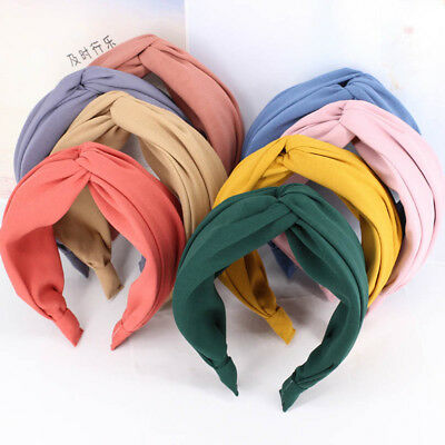 1PC Women Ladies Yoga Hairband Bow Knot Headband Headwrap Hair Hoop Accessories