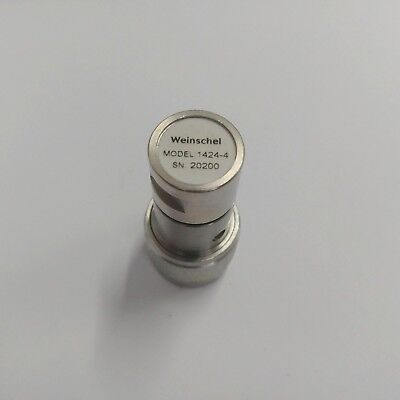 Used Weinschel 1424-4 -   Terminations & Loads, Type N Male, dc to 12.4 GHz