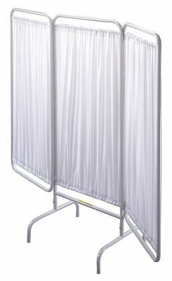 """R&b Wire Products Inc. 3 Panel, 81"""" x 67"""" Privacy Screen, White  PSS-3"""