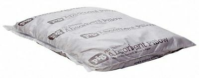 """New Pig Absorbent Pillow, Universal, 20 gal., 10"""" x 10"""", Cellulose Gray  PIL204"""