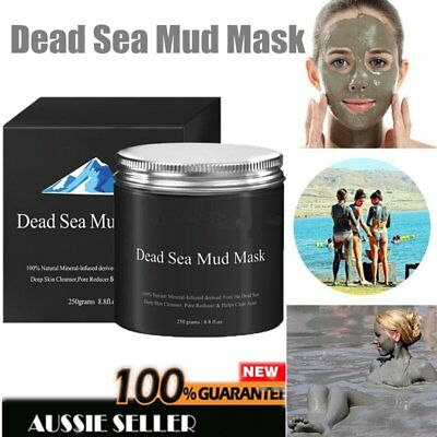 Dead Sea Mud Mask Facial Cleanser Anti-Acne Moisturizing Smoothing Cleaning LA