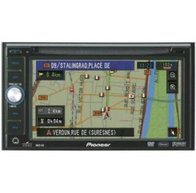 & Pioneer AVIC-D3 double - Din dash DVD multimedia navigation System stereo 11'4