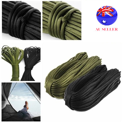 New 7 Strand Cord 250FT 550 Paracord Parachute Cord Lanyard Mil Spec Type III CO