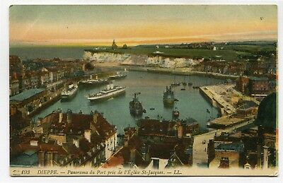 CPA - Carte Postale - France - Dieppe - Panorama du Port