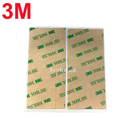 40pcs 3M 9495LE 300LSE 100mm x 2mm Clear Double Sided Adhesive Tape Phone Repair