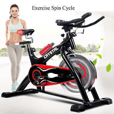 Bicycle Cycling Fitness Exercise Stationary Spinning Bike Cardio Home Indoor