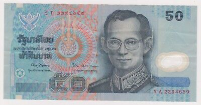 (N17-32) 2000 Thailand 50 baht bank note (AG)