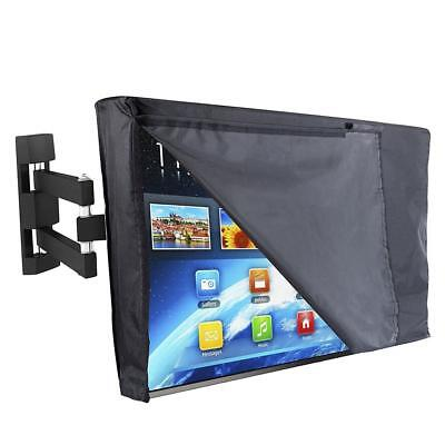 Outdoor TV Cover Waterproof Outdoor Television Protector With Transparent Film