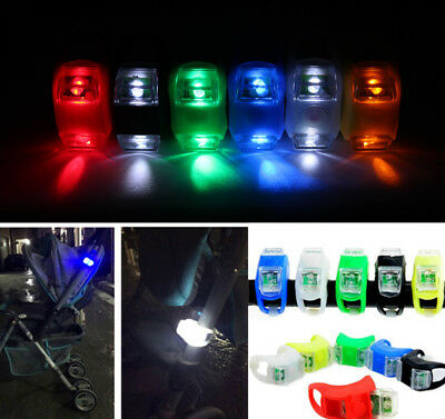 2018 New Night Silicone Caution Light Lamp For Baby Stroller Night Out Safety PS