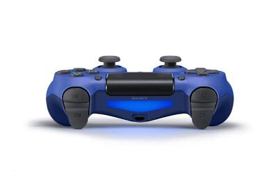 Official Sony PlayStation DualShock 4 Controller - Wave Blue - PS4 Wireless