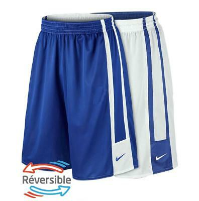 New Nike League Mens Dri-Fit Reversible Basketball shorts  2XL 3XL white blue