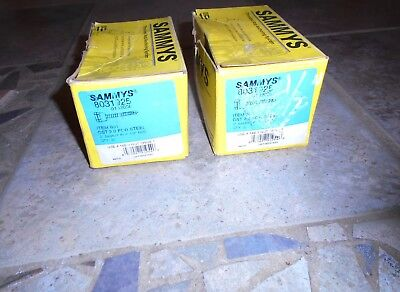 2 Boxes + SAMMYS THREADED Rod HANGER ANCHOR for STEEL 8031925  BOX  2""