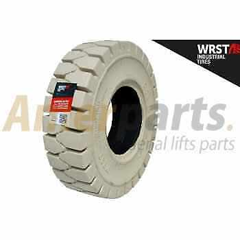 Forklift Tyre 6.50-10/5.00 Solid Non Marking Universal WRST for Non-stop usage!