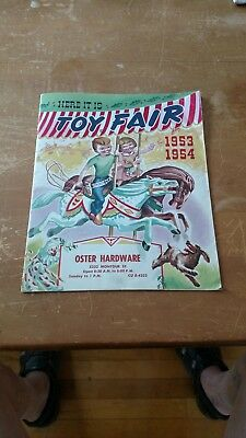 VINTAGE 1953-54 Toy Fair, Oster Hardware. A.C. Gilbert Ads. Christmas Catalog