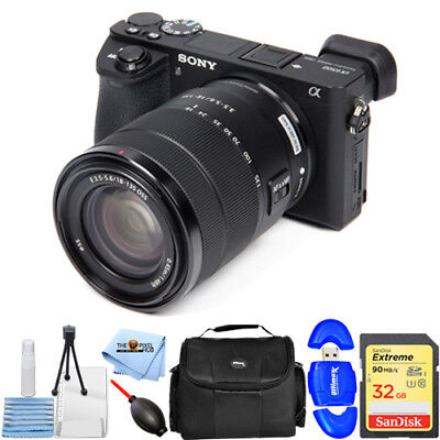 Sony Alpha a6500 Mirrorless Digital Camera with 18-135mm Lens STARTER BUNDLE NEW