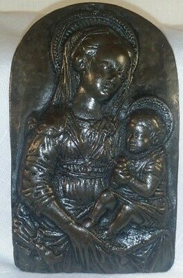 Wild Goose Studio T.S. Eliot Madonna & Child Cast Plaque Kinsale Ireland Virgin