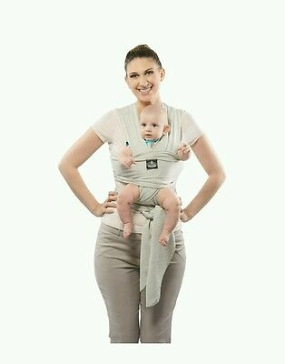 Premium Baby Carrier Sling, Wrap for Newborns, Infants, & Toddlers, Soft Cotton
