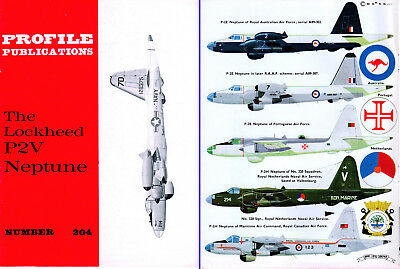 Collection quality Lockheed Neptune P2V Aircraft Profile Publication #204